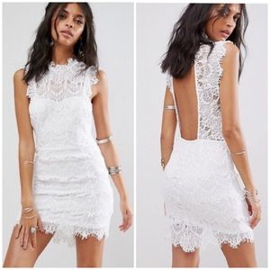Free People Dresses - Intimately Free People white lace Daydream dress